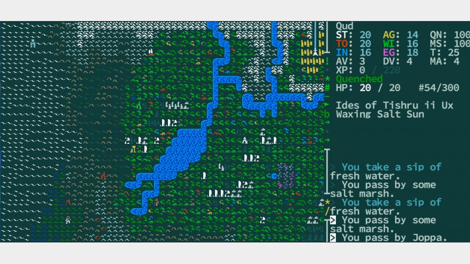 Caves Of Qud World Map.Caves Of Qud A Maze Berlin 2018 April 25 29 2018